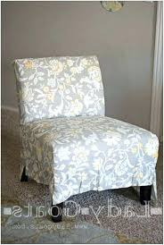 armless chair slipcover chair slipcover within for slipper patterns decor armless dining room chair covers