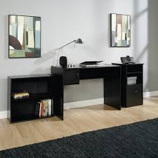 mainstays 3 piece home office bundle black. gorgeous mainstays 3 piece home office bundle black finish walmart desk and bookcase set