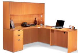 l shaped office desk with hutch white