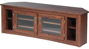 Mission Style Corner Tv Stand Solid Oak Mission Style Corner Stand ...