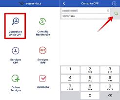 Como consultar CPF pelo celular com o app Pessoa Física | Produtividade