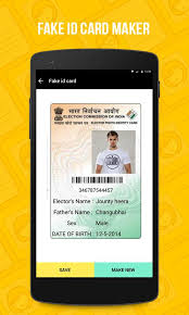 Id For - Download Voter Apk Fake Android Maker Card