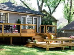 Backyard Deck Design Simple Design Ideas