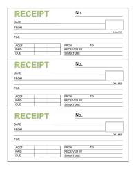 rent paid receipt format rent receipt book three receipts per page microsoft word