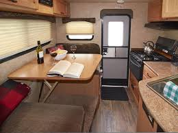 Travel trailers interior Remodel Truck Camper Interior Fun Town Rv Rentals Truck Camper Fraserway Rv