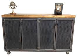 office sideboards. the iron age credenza industrialbuffetsandsideboards office sideboards a