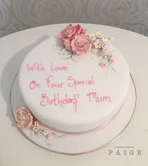 Pink Floral Spray Designer Cakes By Paige