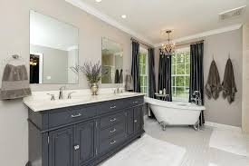 clawfoot tub bathroom ideas traditional master bathroom with freestanding tub and square field tile clawfoot tub clawfoot tub bathroom ideas