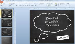 Chalkboard Ppt Theme How To Create A Simple Powerpoint Blackboard Presentation