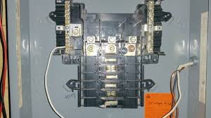 wire a 3 phase subpanel from a 2 phase main breaker box sub breaker box 1
