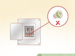 how to find the fuse box or circuit breaker box 12 steps How Do I Change A Fuse In A Breaker Box image titled find the fuse box or circuit breaker box step 6 how to change a fuse in a breaker box