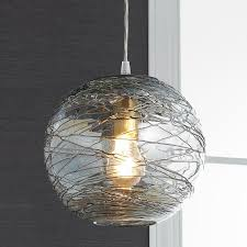 awesome creation large glass globe pendant light transparant component bulbs standard fixture lamp
