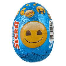 <b>Шоколадное яйцо Emoji</b> с игрушкой 20 г купить по цене 80 ₽ в ...