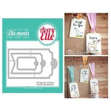 Avery Gift Tags Avery Elle Elle Ments Dies Gift Tags D1416 Scrapbooking Cardmaking Craft Supplies Online Sto