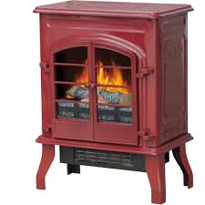 decor flame electric fireplace with 38 mantle dark cherry com