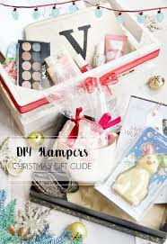 Christmas Gift Guide - DIY Hampers Under 20 (plus free downloadable print)