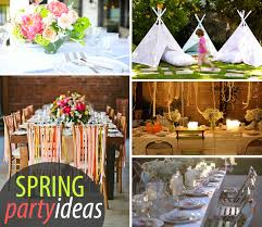 20 Colorful Spring Party Ideas .