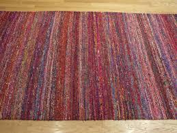 rugsville textured multi sari silk 17098 rug recycled sari silk rugs