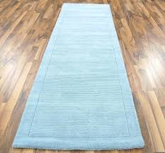 blue runner rug duck egg blue hall runner image 1 light blue runner rug