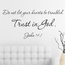 Trust In God Quotes Enchanting Christ Trust In God Quotes Black Wall Stickers Mural Art Decals For