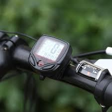 Ready  MTB Bicycle <b>Waterproof Digital LCD</b> Display Computer ...