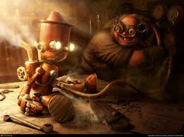 mad scientist steampunk wallpapers