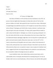 cold war fears dbq essay li yang li mr ward ap u s history  4 pages 19th century civil rights