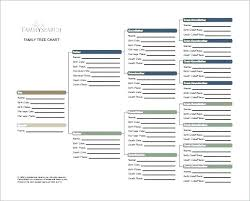 Excel Template Family Tree Free Family Tree Template Chart Excel Software My