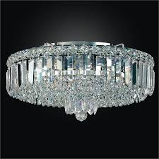 crystal flush mount with crystal band madison 552rc15sp 5