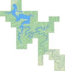 Cave Run Lake Fishing Map Us_ky_00511277 Nautical