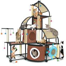 kitty city cat activity centre modular system which allows you to build a climbing cat furniture modern