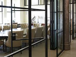 Glass conference rooms Office Pk30 Folding Glass Walls Conference Room Doors Valeria Furniture Vertical Retractable Walls Skyfold Classic Series By Modernfoldstyles