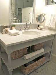 ... Endearing Bathroom Vanity Shelving About Home Decorating Ideas with Bathroom  Vanity Shelving ...