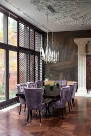 Home Designs: Purple Dining Room - Modern Art Deco