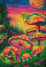 Neon Mushroom Wallpapers - Top Free ...