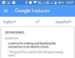 el traductor de google se ha actualizado y añade la función de diccionario
