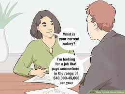 How To Ask About Salary 10 Steps With Pictures Wikihow