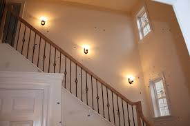 stair lighting. 38 Wall Sconces For Stairway Lighting, Basement Stair Lighting Houzz Inside Excellent Sconce Your Home Concept E