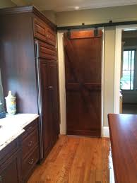 Barn Door For Kitchen The Decorative Barn Door By The Superhandyman