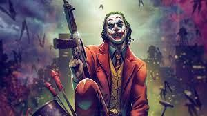 Joker With Gun Up 4k, HD Superheroes ...