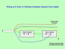 how do i fix my burglar alarm? top tips dengarden Alarm Contact Wiring Diagrams door window contacts are connected in series they don't require power and alarm contact wiring diagram