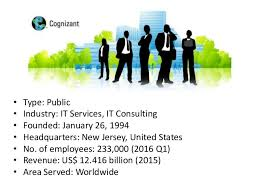 Cognizant New Jersey Cognizant Ppt