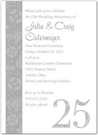 Sample Invitation For Renewal Of Vows Wedding Vow Renewal ...