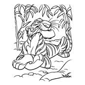 Kleurplaten Jungle Book Disney
