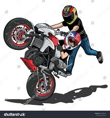 stunt bike stock vector 304508012 shutterstock