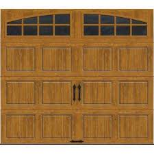 brown garage doors with windows. Gallery Collection 8 Ft. X 7 6.5 R-Value Insulated Ultra- Brown Garage Doors With Windows R