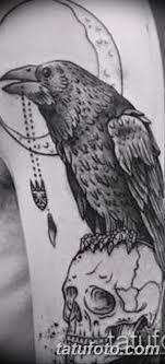фото тату черный ворон 15042019 216 Ideas Black Raven Tattoo