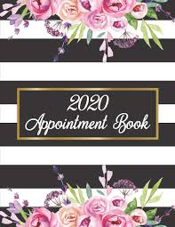 Hourly Planner 2020 2020 Appointment Book Weekly Daily And Hourly Planner For