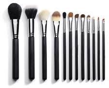 professional eye face make up brushes or brush set eyeshadow powder foundation