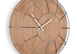 retro amored timekeepers wall clock